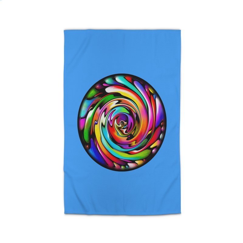 Rainbow Portal Home Rug by Allison Low Art