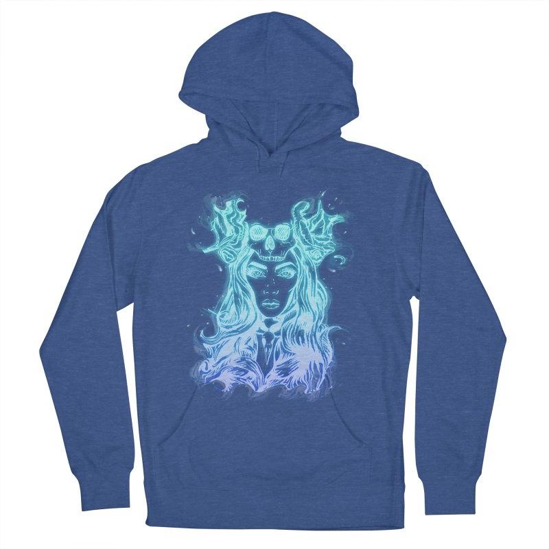 Blueglow Baby Women's French Terry Pullover Hoody by Allison Low Art