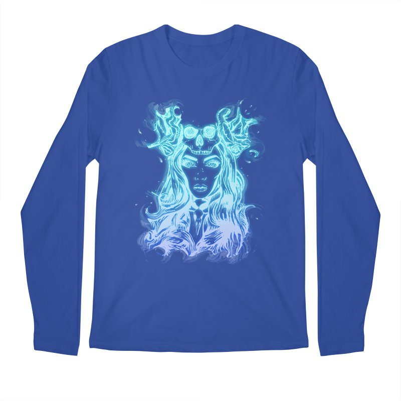 Blueglow Baby Men's Regular Longsleeve T-Shirt by Allison Low Art