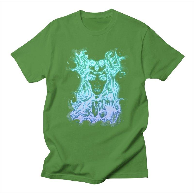 Blueglow Baby Men's T-shirt by Allison Low Art