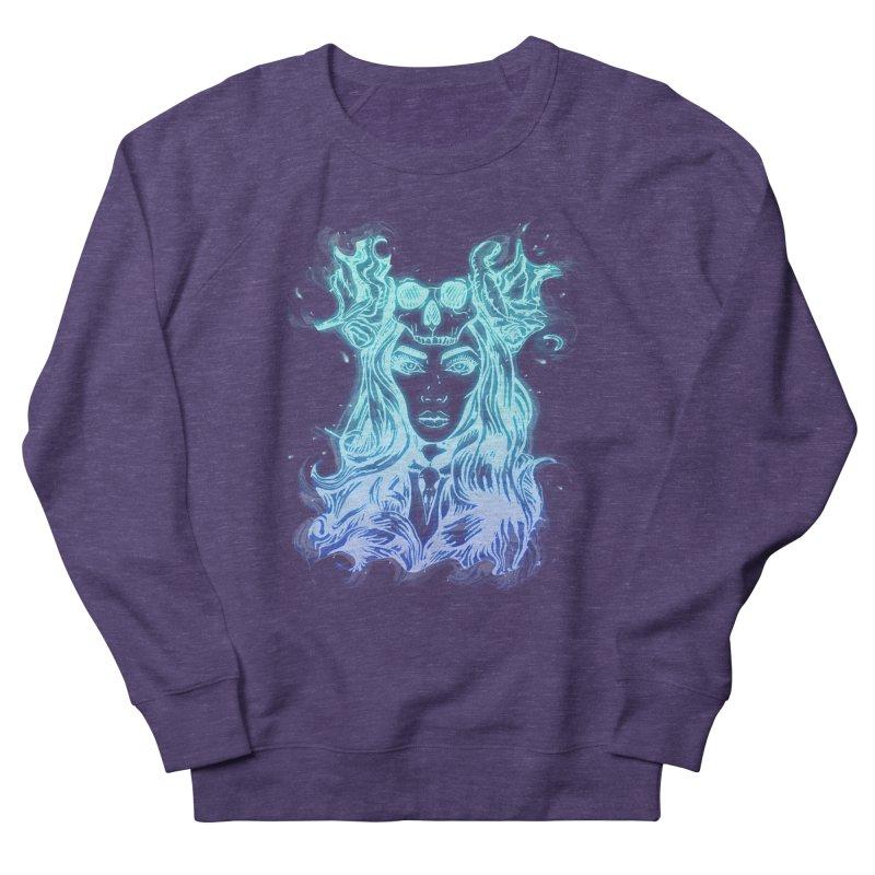 Blueglow Baby Women's Sweatshirt by Allison Low Art