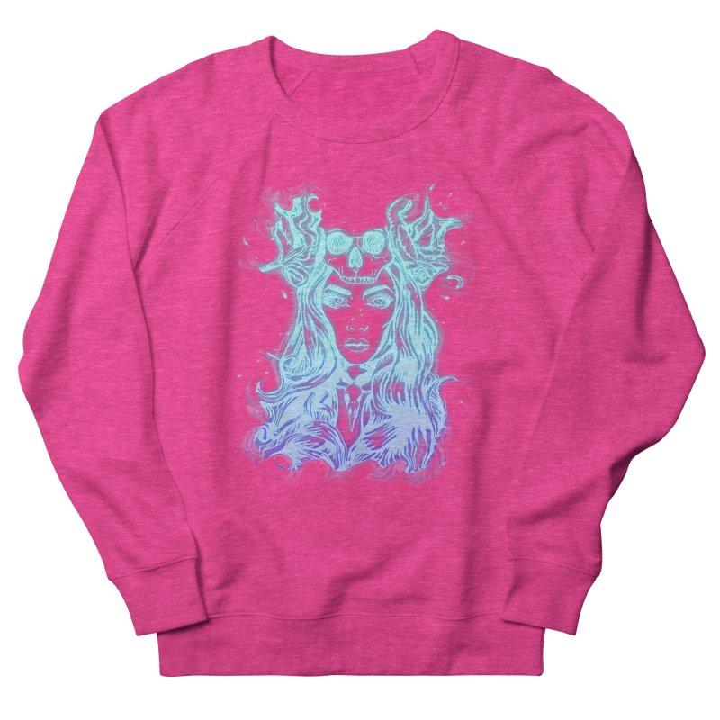 Blueglow Baby Women's French Terry Sweatshirt by Allison Low Art