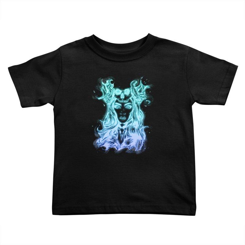 Blueglow Baby Kids Toddler T-Shirt by Allison Low Art