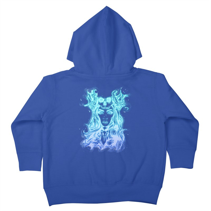 Blueglow Baby Kids Toddler Zip-Up Hoody by Allison Low Art