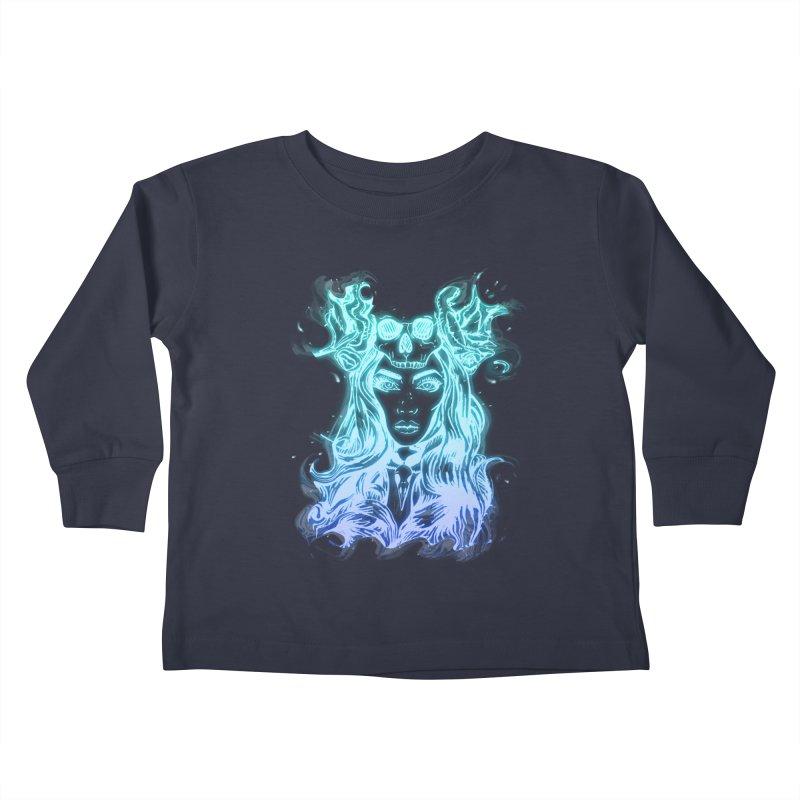 Blueglow Baby Kids Toddler Longsleeve T-Shirt by Allison Low Art