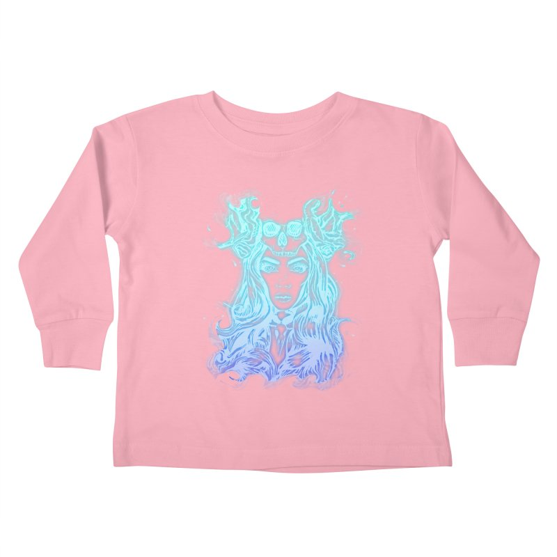Blueglow Baby Kids Toddler Longsleeve T-Shirt by Allison Low Art