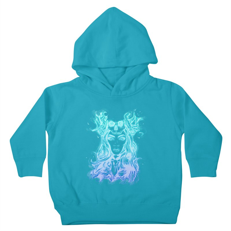 Blueglow Baby Kids Toddler Pullover Hoody by Allison Low Art