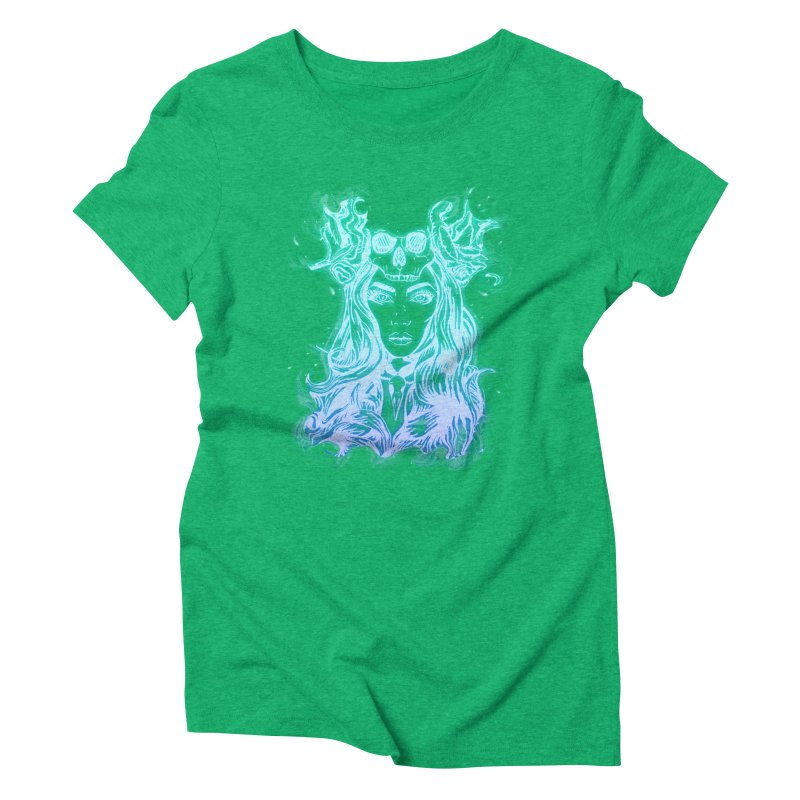 Blueglow Baby Women's Triblend T-Shirt by Allison Low Art