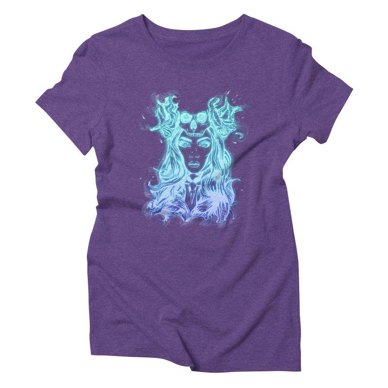 Blueglow Baby Women's Triblend T-Shirt by Allison Low Art