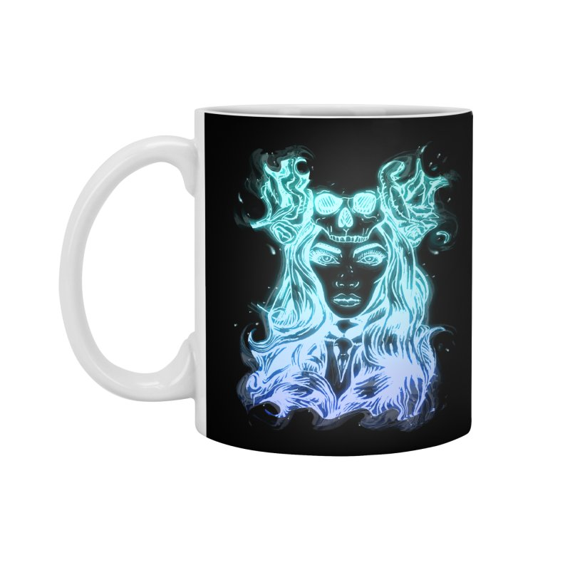 Blueglow Baby Accessories Standard Mug by Allison Low Art