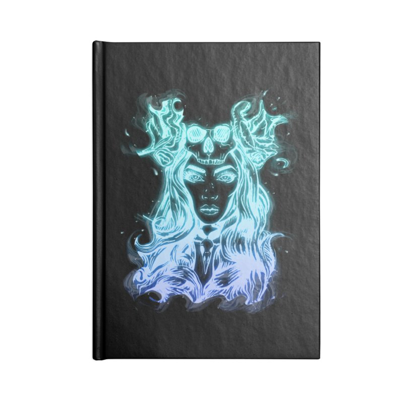 Blueglow Baby Accessories Notebook by Allison Low Art