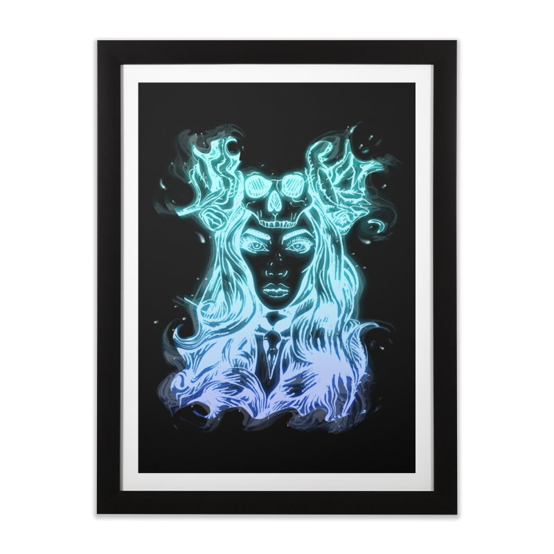 Blueglow Baby Home Framed Fine Art Print by Allison Low Art