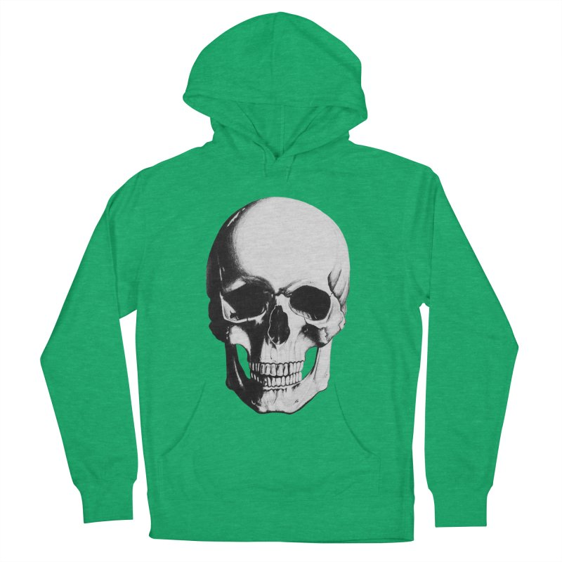 Skull Men's Pullover Hoody by Allison Low Art