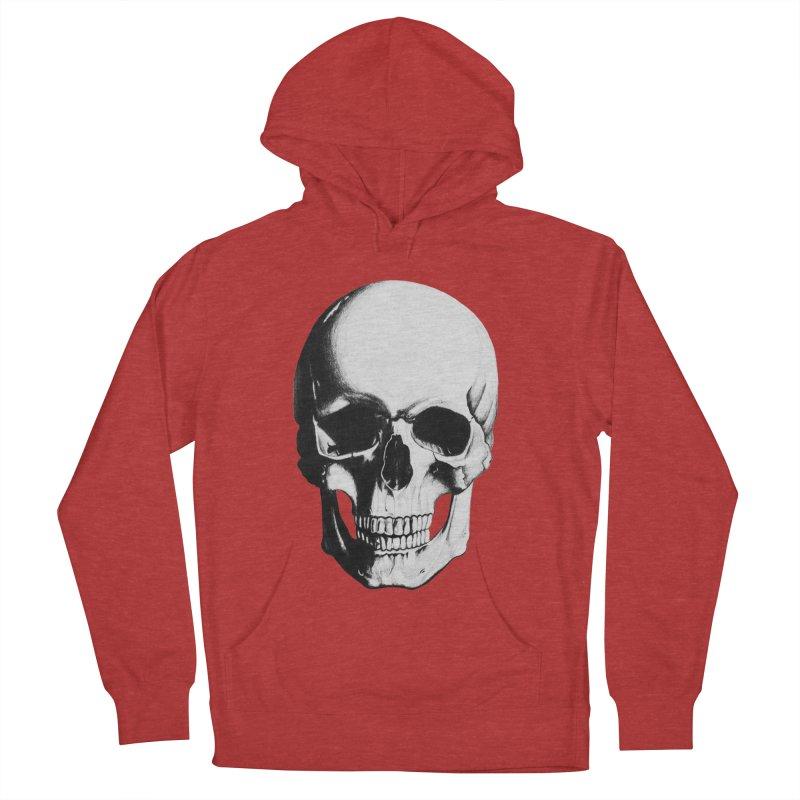 Skull Men's Pullover Hoody by Allison Low Art