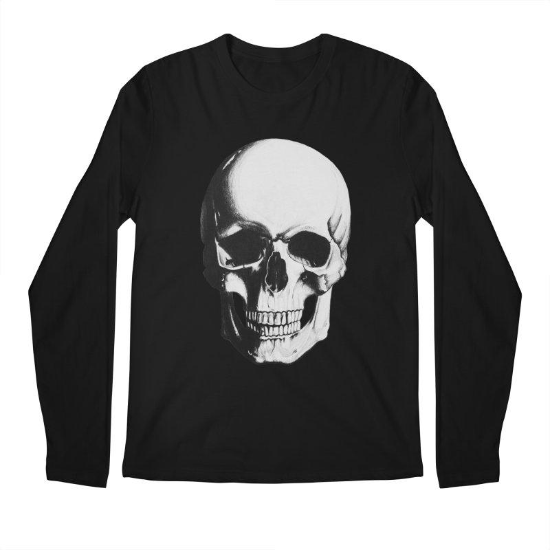 Skull Men's Longsleeve T-Shirt by Allison Low Art