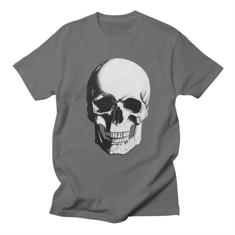 Skull Men's T-shirt by Allison Low Art