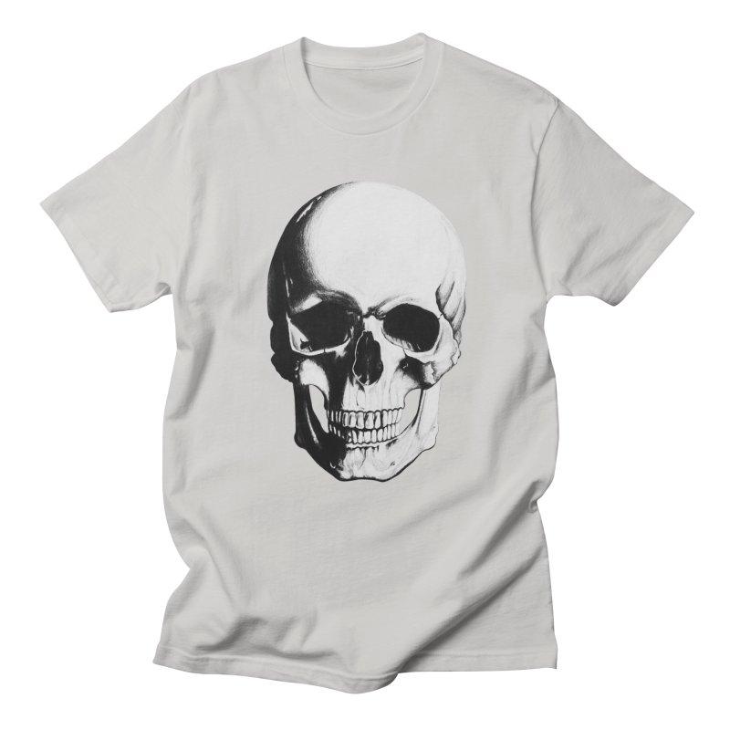 Skull Women's Regular Unisex T-Shirt by Allison Low Art