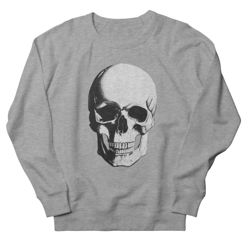 Skull Women's Sweatshirt by Allison Low Art