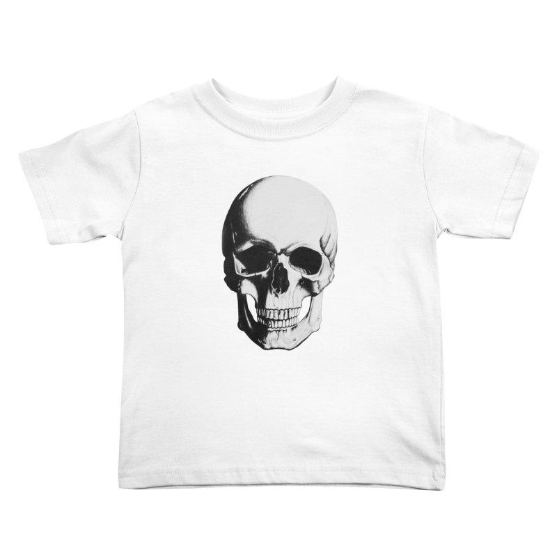 Skull Kids Toddler T-Shirt by Allison Low Art