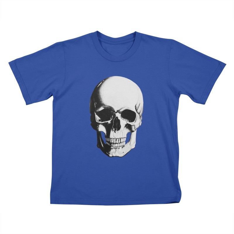 Skull Kids T-shirt by Allison Low Art