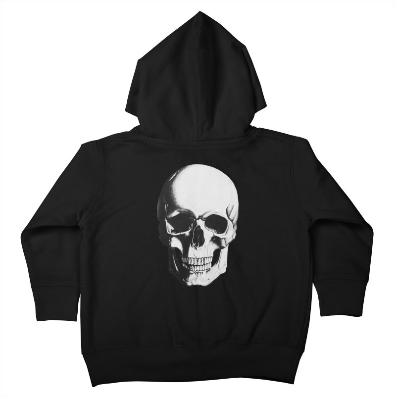 Skull Kids Toddler Zip-Up Hoody by Allison Low Art