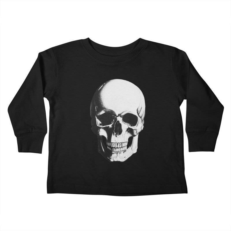 Skull Kids Toddler Longsleeve T-Shirt by Allison Low Art