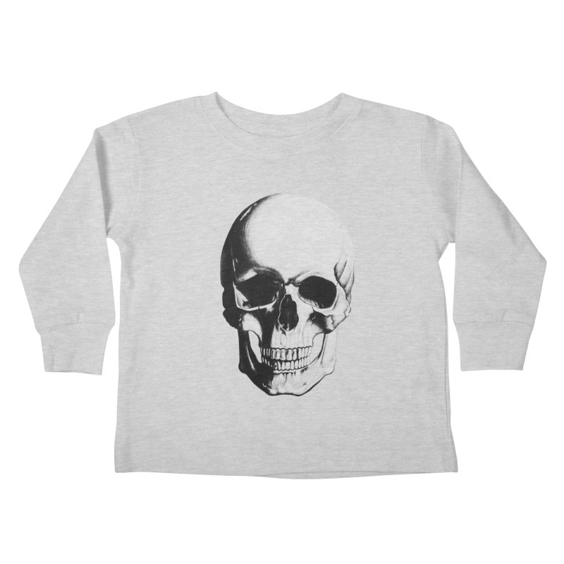 Skull Kids Toddler Longsleeve T-Shirt by Allison Low Art