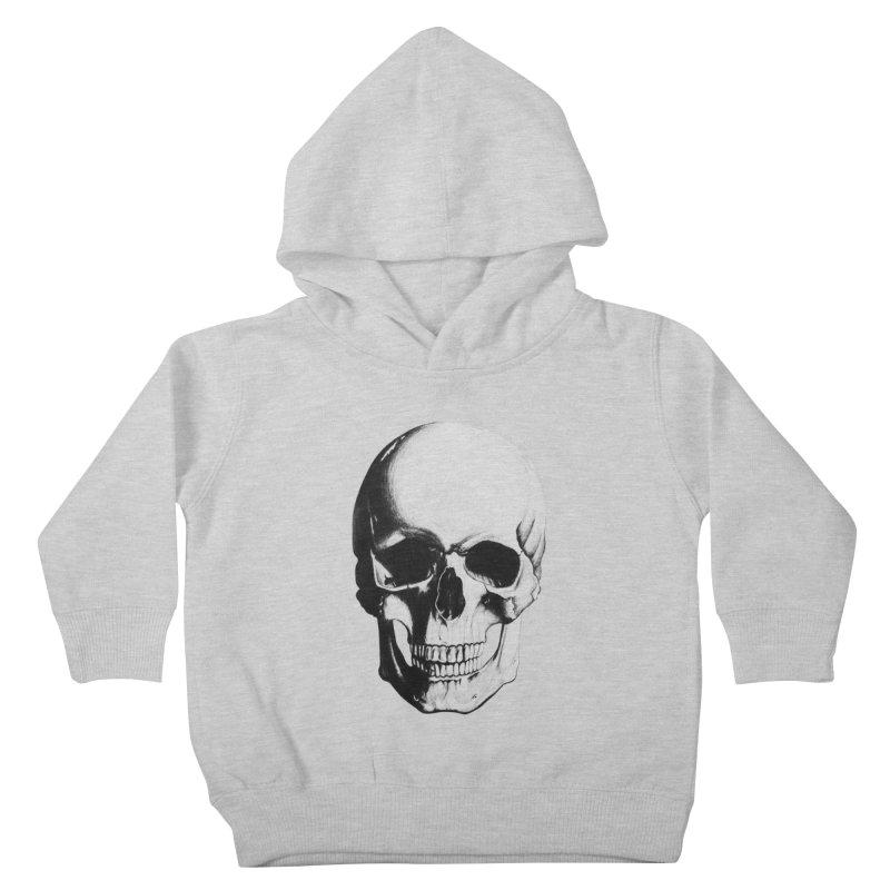 Skull Kids Toddler Pullover Hoody by Allison Low Art