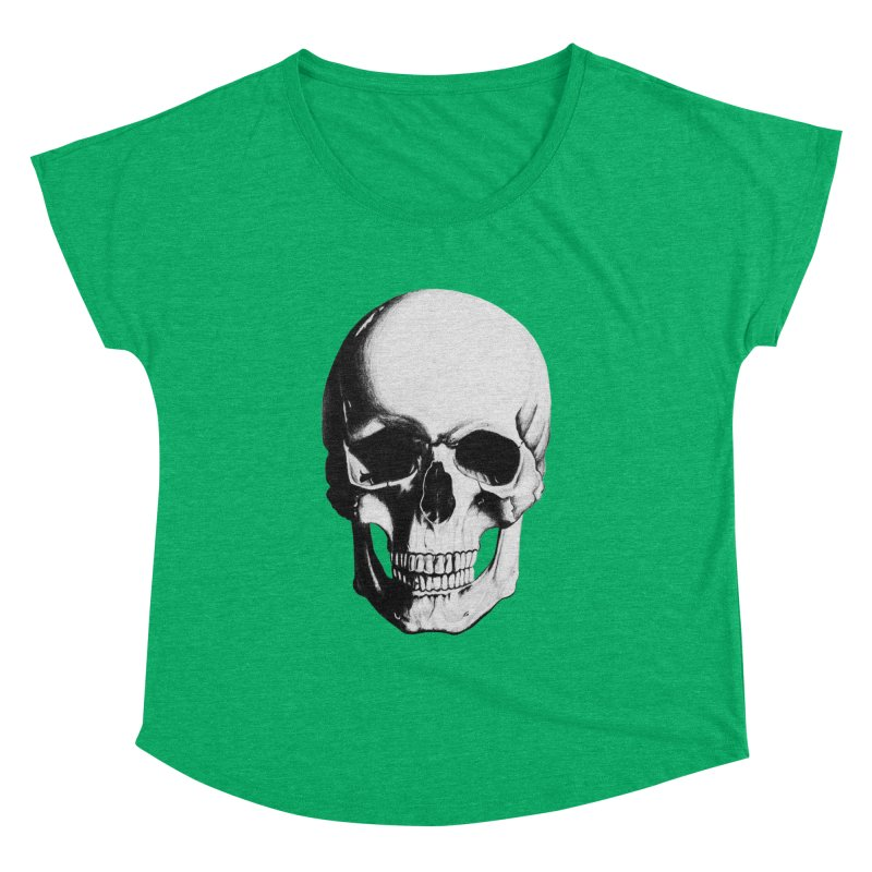 Skull Women's Dolman by Allison Low Art