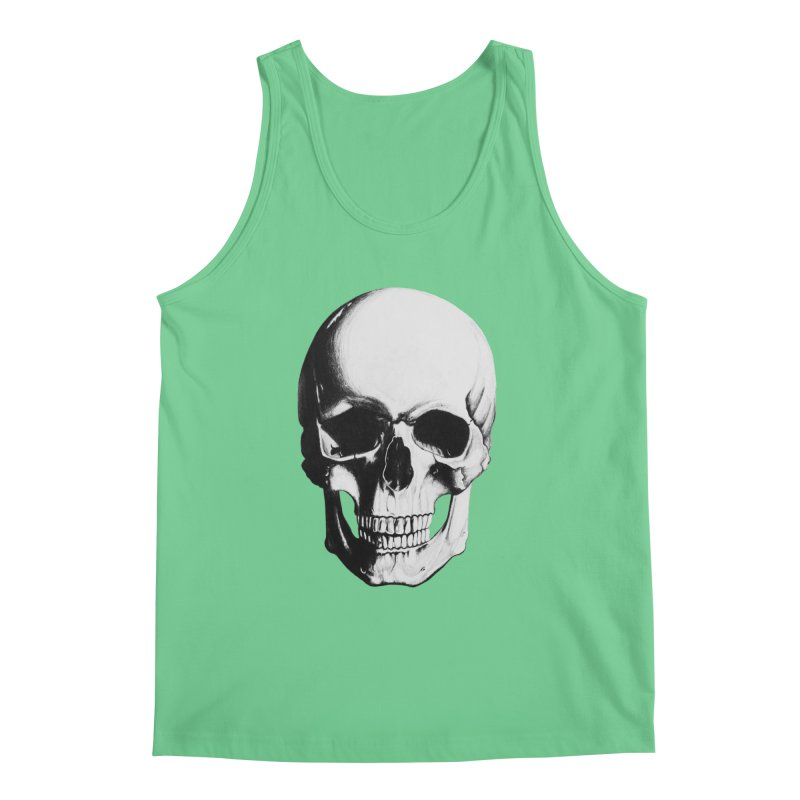 Skull Men's Regular Tank by Allison Low Art
