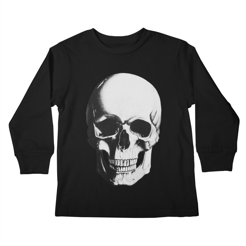 Skull Kids Longsleeve T-Shirt by Allison Low Art