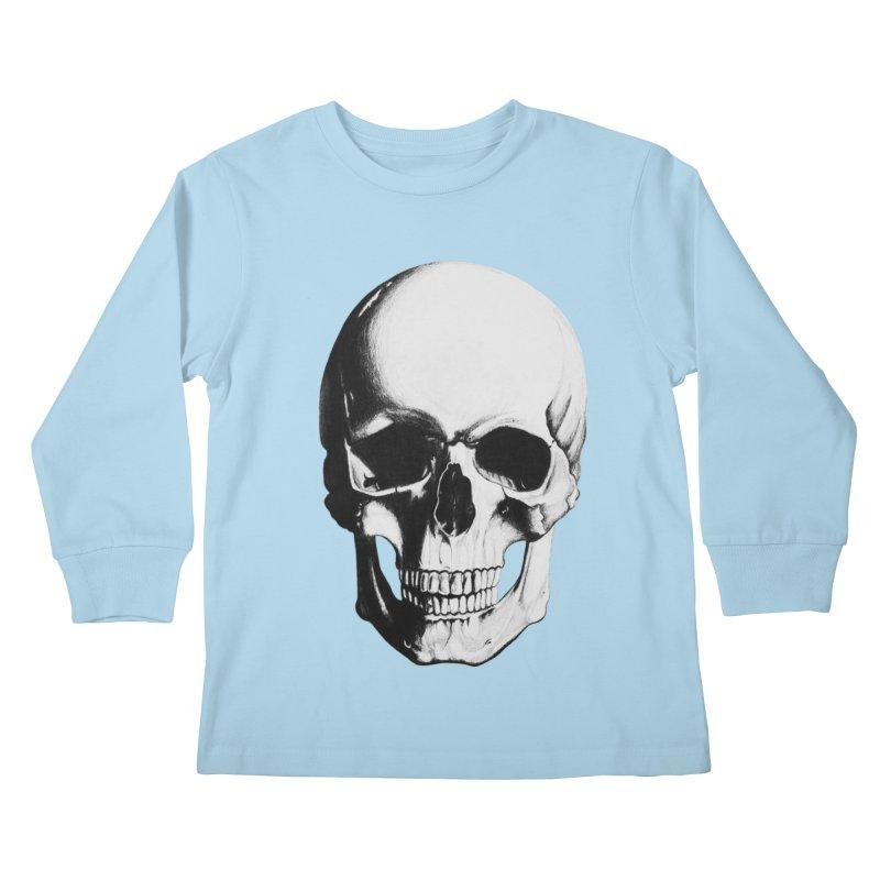 Skull Kids Longsleeve T-Shirt by Allison Low Art