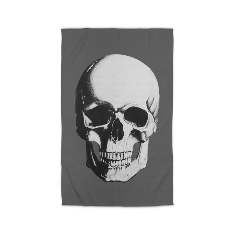 Skull Home Rug by Allison Low Art