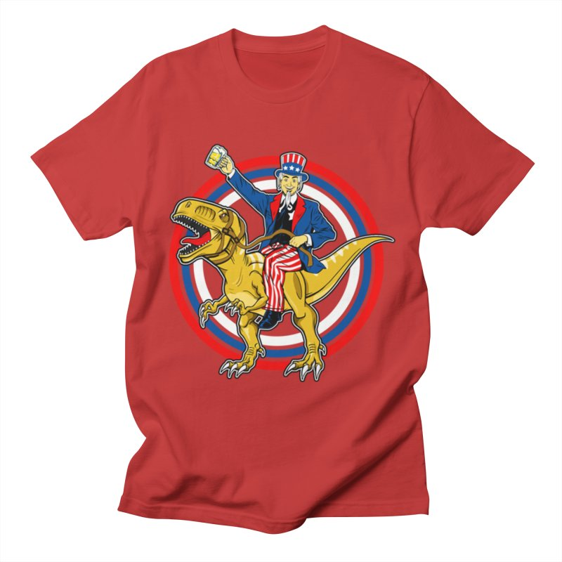 Red, White and Brew Men's T-Shirt by The Final Boss
