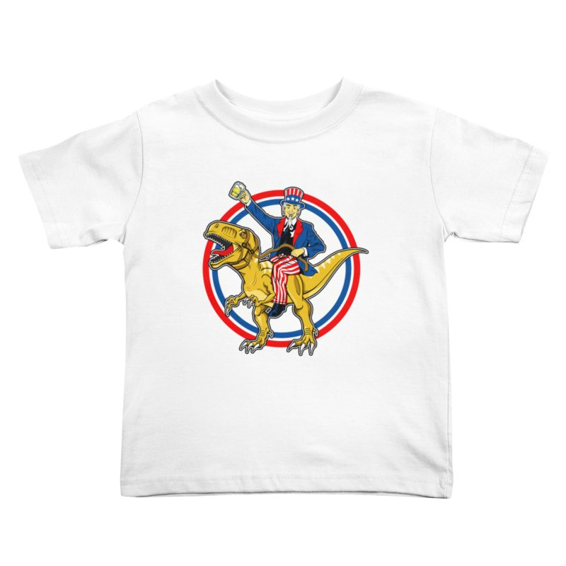 Red, White and Brew Kids Toddler T-Shirt by The Final Boss