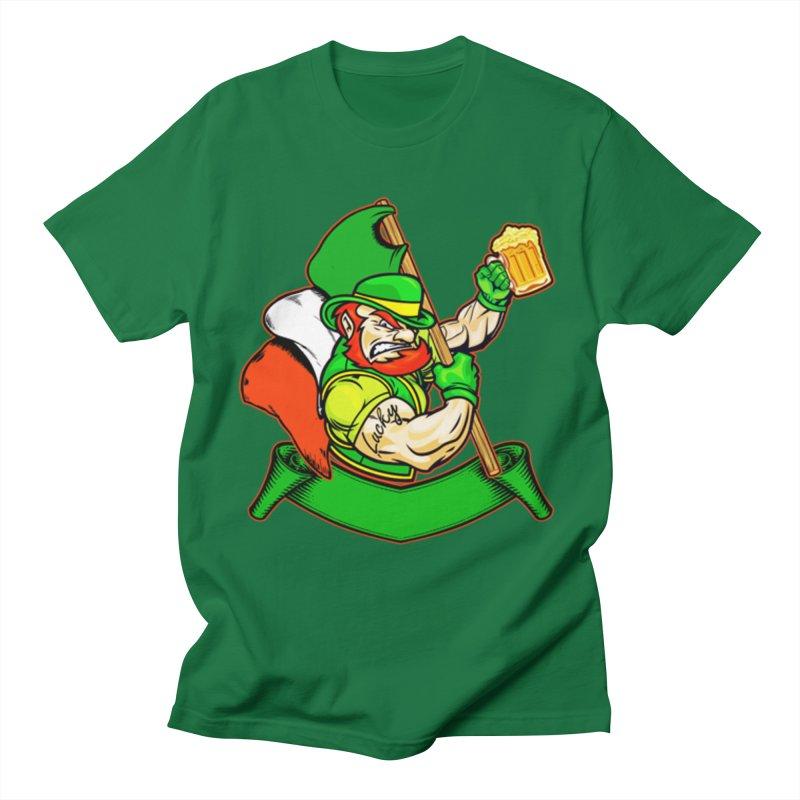Lucky Men's T-Shirt by The Final Boss