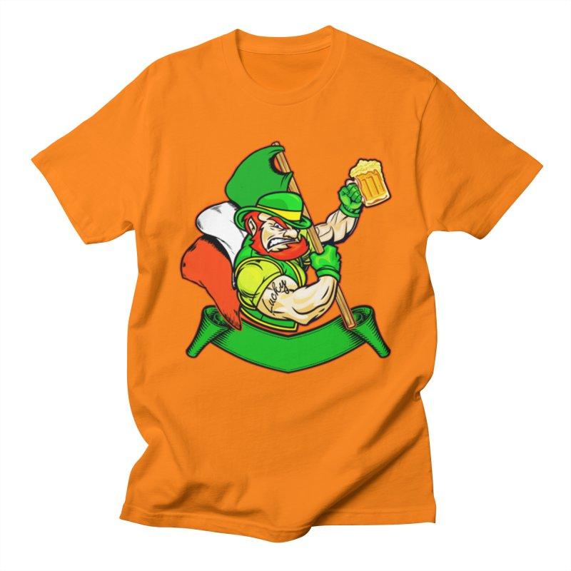 Lucky Men's Regular T-Shirt by The Final Boss