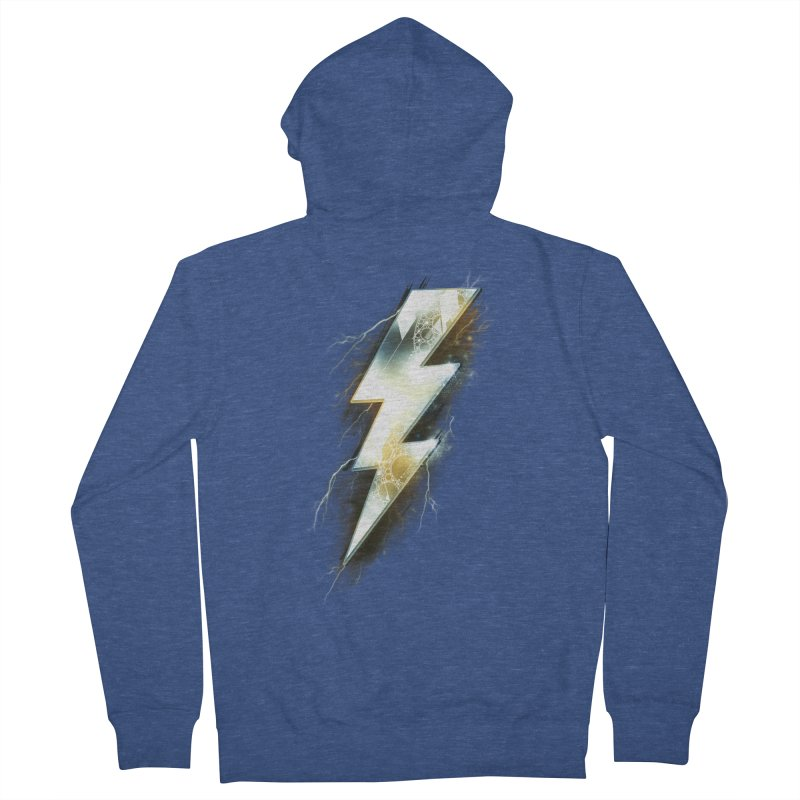 Night of Thunder Men's Zip-Up Hoody by alnavasord's Artist Shop