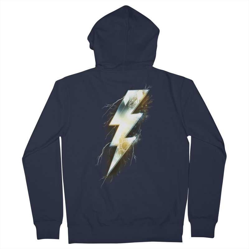 Night of Thunder Men's Zip-Up Hoody by alnavasord's Artist Shop