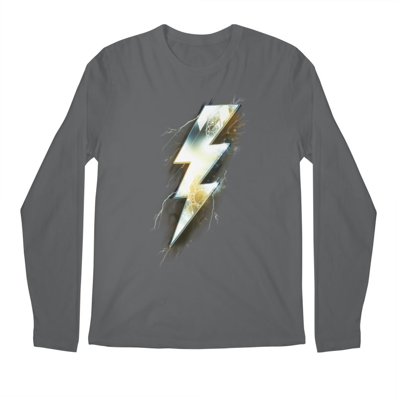 Night of Thunder Men's Longsleeve T-Shirt by alnavasord's Artist Shop