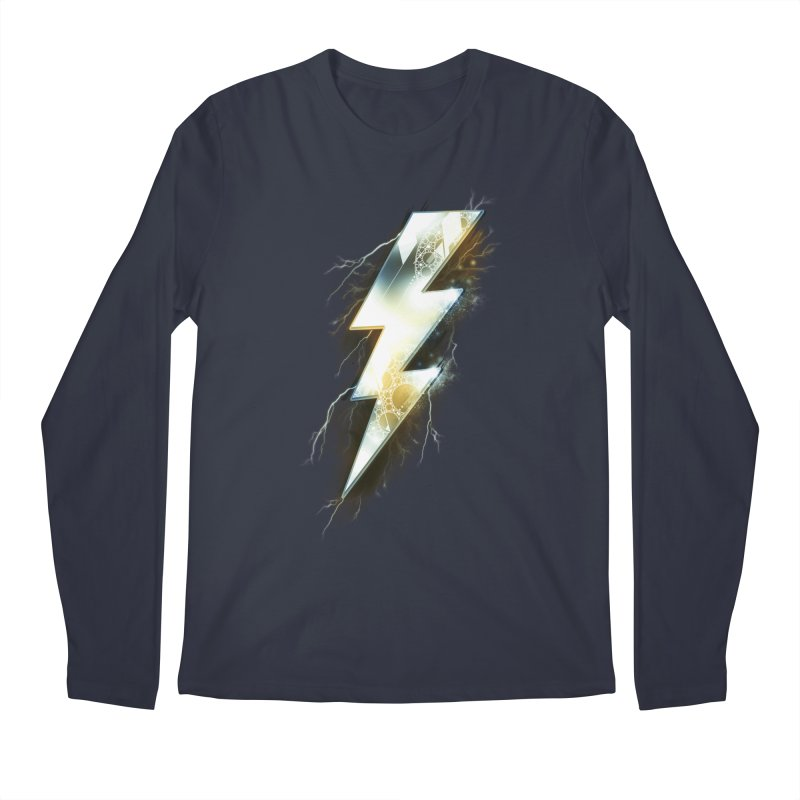 Night of Thunder Men's Longsleeve T-Shirt by alnavasord's Artist Shop