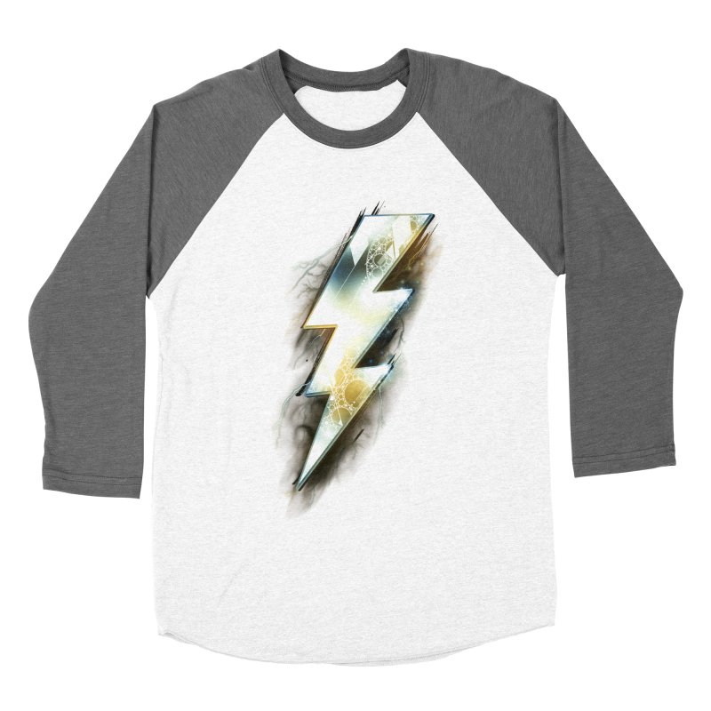 Night of Thunder Women's Baseball Triblend T-Shirt by alnavasord's Artist Shop