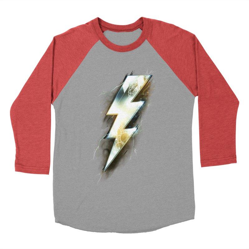 Night of Thunder Men's Baseball Triblend T-Shirt by alnavasord's Artist Shop