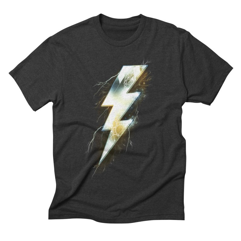 Night of Thunder Men's Triblend T-shirt by alnavasord's Artist Shop