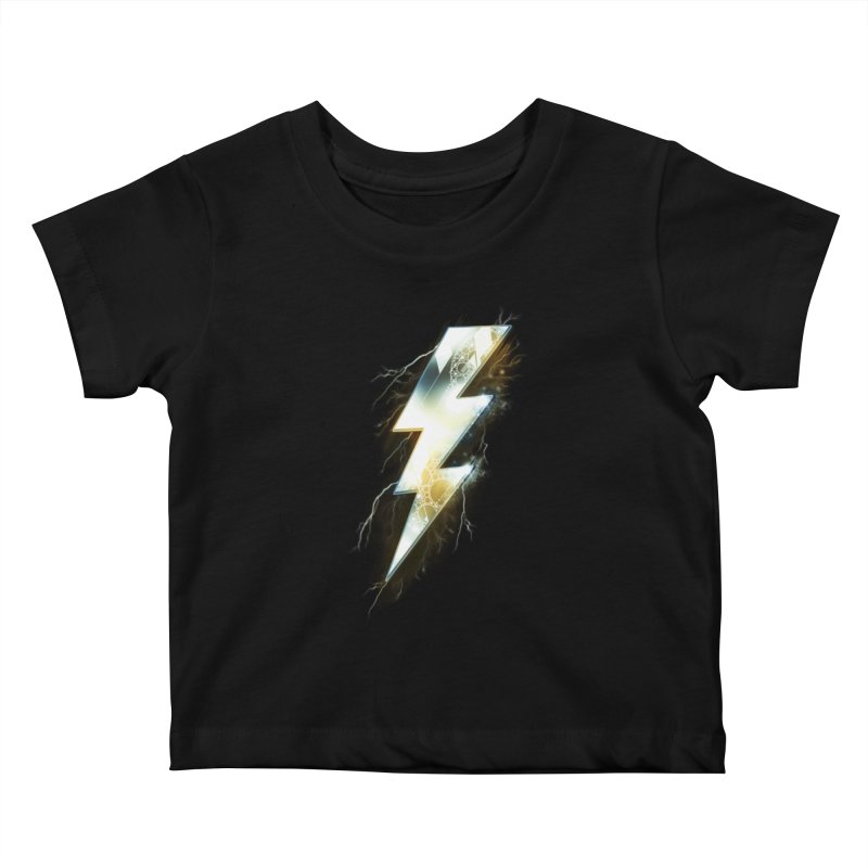 Night of Thunder Kids Baby T-Shirt by alnavasord's Artist Shop