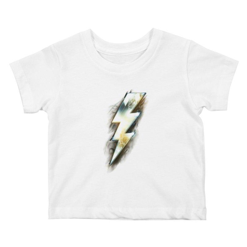 Night of Thunder Kids Baby T-Shirt by alnavasord's Artist Shop