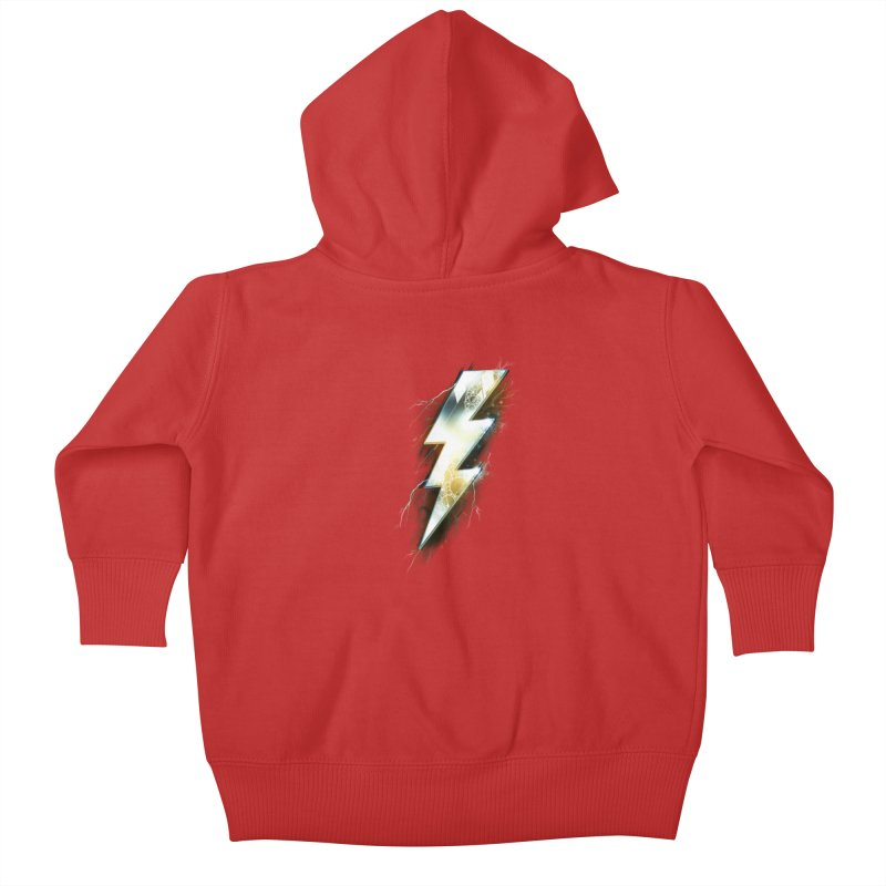 Night of Thunder Kids Baby Zip-Up Hoody by alnavasord's Artist Shop