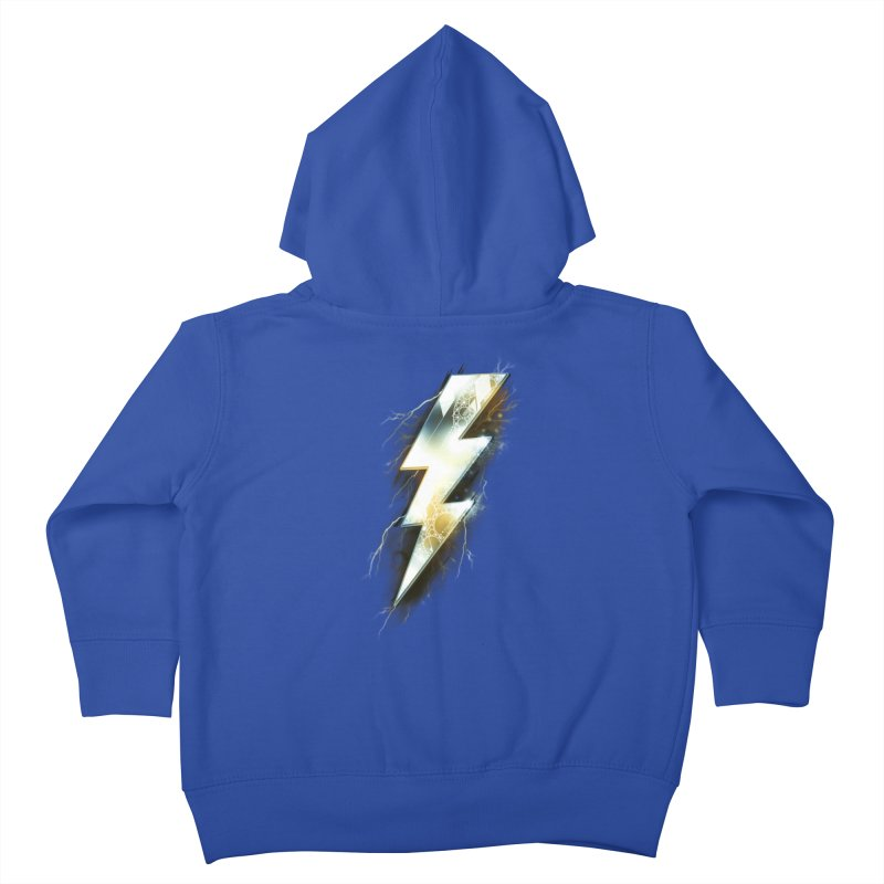 Night of Thunder Kids Toddler Zip-Up Hoody by alnavasord's Artist Shop
