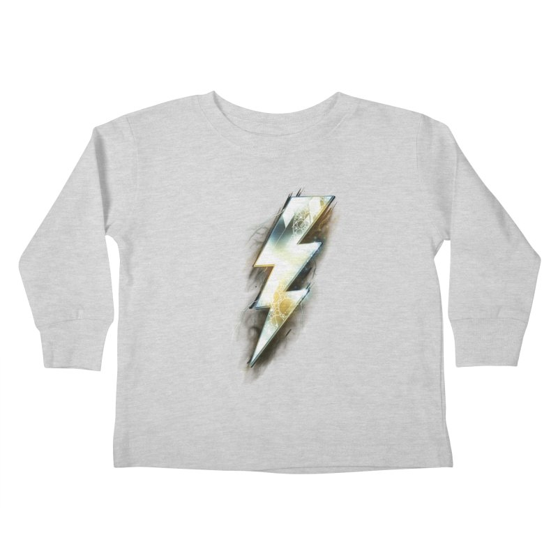 Night of Thunder Kids Toddler Longsleeve T-Shirt by alnavasord's Artist Shop