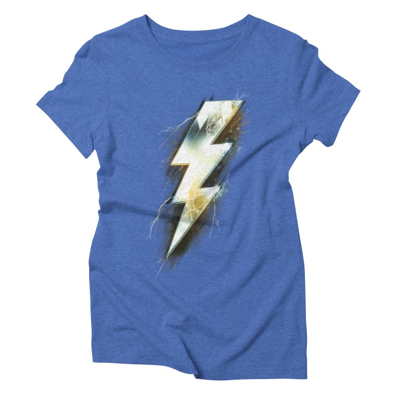 Night of Thunder Women's Triblend T-shirt by alnavasord's Artist Shop